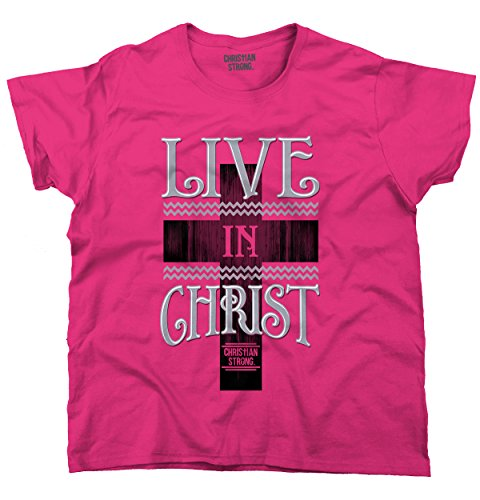 Live-Christ-Christian-T-Shirts-Jesus-Christ-Cross-Gift-Ideas-Ladies-T-Shirt