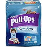 Huggies Pull-Ups Training Pants with Cool Alert Wetness Liner, Boys, 2T-3T, 44-Count