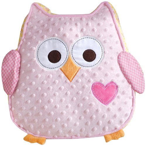 Fantastic Deal! Dena Happi Tree Plush Pillow, Pink