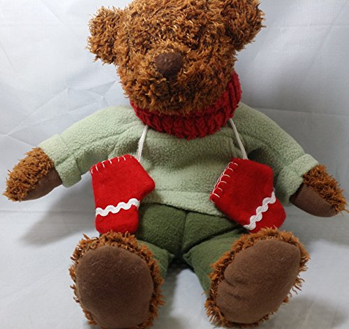 "Winter Plush Teddy Bear 12"" - 1"