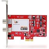 TBS ® 6221 DVB-T2/T/C tarjeta PCI Express de alta definición TV Tuner - Ideal para disfrutar de la libre-a-aire (FTA) Digital Terrestre / Cable de TV y Radio Stereo Digital en PC
