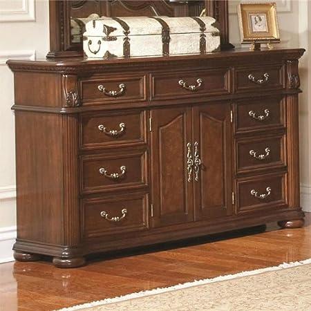 Coaster Home Furnishings 201823 Traditional Dresser, Mahogany