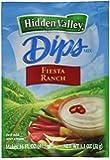 Hidden Valley Dips Mix, Fiesta Ranch, 1.1 Ounce (Pack of 24)