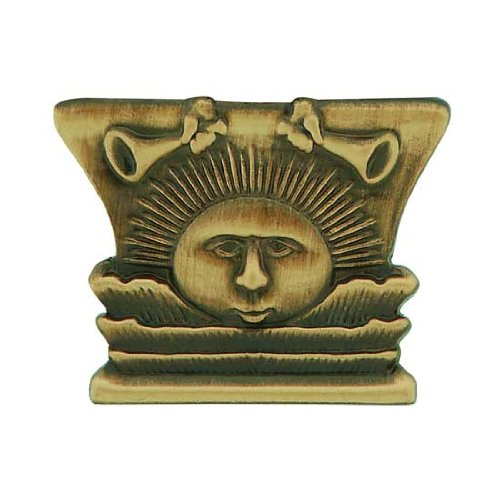 LDS Mens Antiqued Gold Steel Sunstone Tie Tac / Tie Pin for Boys - LDS Tie Tac, LDS Tie Pin, Missionary Gift