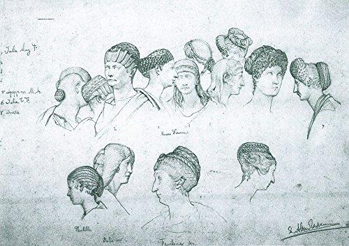 le-musee-de-sortie-croquis-de-coiffures-de-sculptures-antique-par-alma-tadema-poster-en-ligne-achete