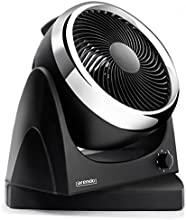 Arendo Tisch-Ventilator / Oszillationsfunktion ca. 100° (schwenkbarer Standfuß) | Standventilator 25cm (Wandbefestigung möglich) | innovative Zirkulationstechnik | Leistungsaufnahme: 30W | hoher Luftdurchsatz | Neigungswinkel verstellbar (90°