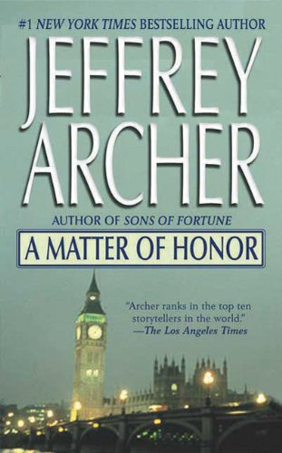 Jeffrey Archer's Novel A Matter Of Honor to become a movie