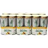 Santa Cruz Organic Mango Lemonade Lemon And Mango Flavored Sparkling Beverage, 10.5 Ounce (Pack of 24)