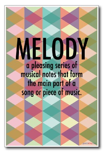 Melody - NEW Music Poster (Singers On Songwriting compare prices)