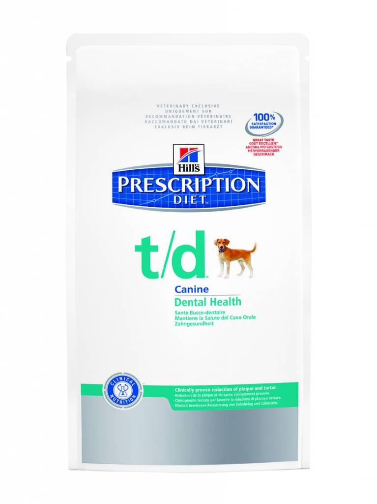 Hills Prescription Diet Canine T/D Mini