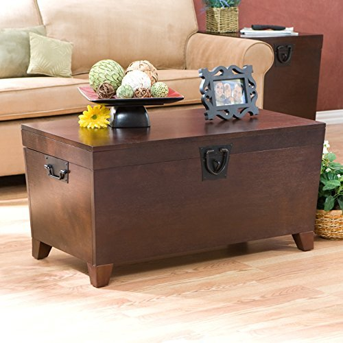 4910ea3b0d9 Metro Shop Upton Home Pyramid Espresso Trunk Cocktail Table by Upton Home