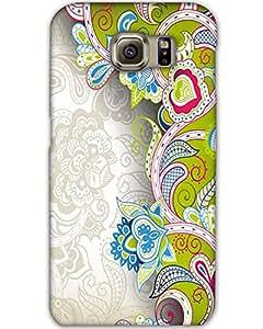 MobileGabbar Samsung Galaxy S6 Edge Back Cover Plastic Hard Case
