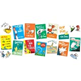 Dr. Seuss(TM) Books Mini Bulletin Board Set - Includes 12 Book Covers and 21 Die-Cut Character Illustrations.