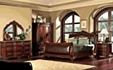 5PC Newcastle Collection California Cal King Size Bed Complete Bedroom Set