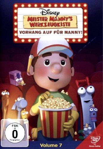 Meister Mannys Werkzeugkiste - Vorhang auf für Manny!