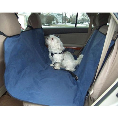 Waterproof Pet Dog Cat Hammock Blanket Car Back Seat Cover Protector Safety Blue (Dodge Ram Backseat Cover compare prices)