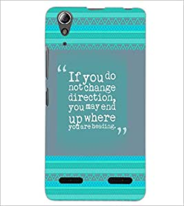 PrintDhaba Vendetta D-4638 Back Case Cover for LENOVO A6000 PLUS (Multi-Coloured)