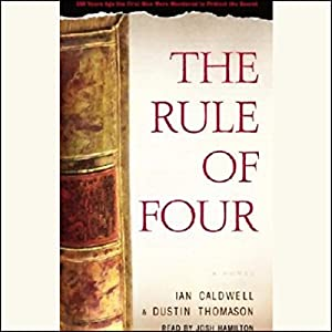 The Rule of Four Hörbuch