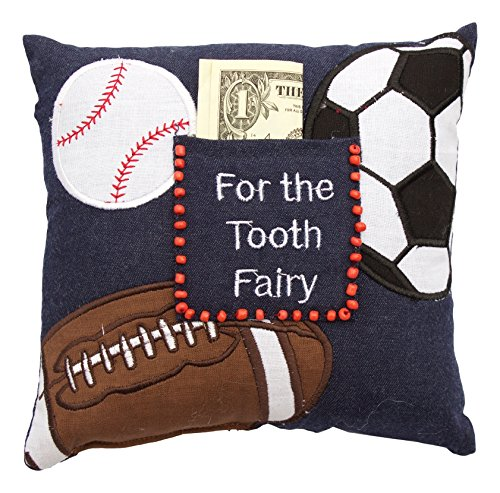 """For The Tooth Fairy"" Pillow, Sports"