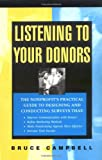 Listening To Your Donors (0787950378) by Campbell, Bruce