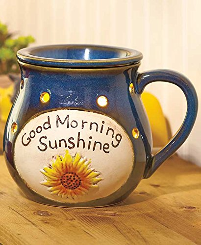 Good Morning Sunshine Handled Mug Electric Wax Warmer