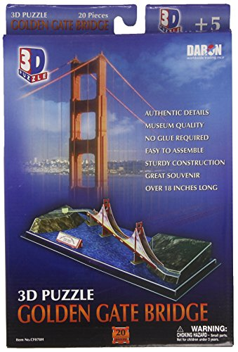 Daron Golden Gate Bridge 3D Puzzle