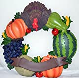 Poly Thanksgiving Wreath