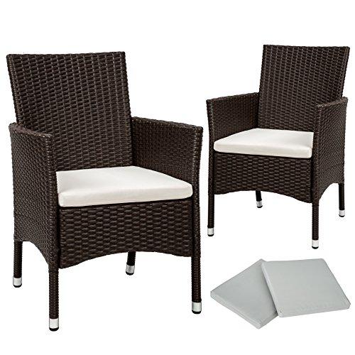 tectake-2-pezzi-sedie-da-esterno-sedia-da-giardino-poli-rattan-poltrona-set-2-set-di-rivestimenti-pe