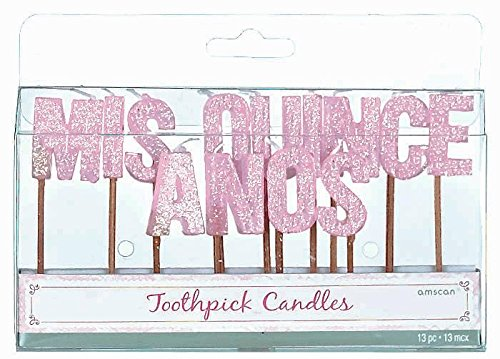 Mis Quince Candles (13 per package) - 1