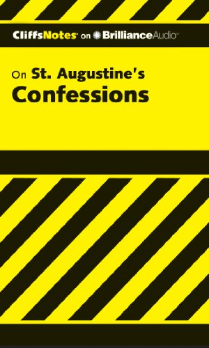 Confessions (Cliffs Notes Series)