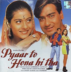 Pyar To Hona Hi Tha (Ajay Devgan - Kajol / Film Soundtrack / Bollywood Movie Songs / Music CD)