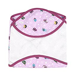 Snow Flower Friend Lagging receiving-blankets Baby Swaddle Purple