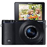 Samsung NX3300 Mirrorless Camera with 20-50mm Lens (Certified Refurbished)
