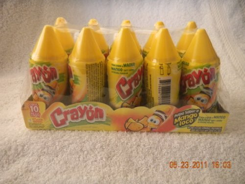 Lorena, Crayon Mango Flavored Soft Candy 1.13 Oz (Pack Of 10) front-584327
