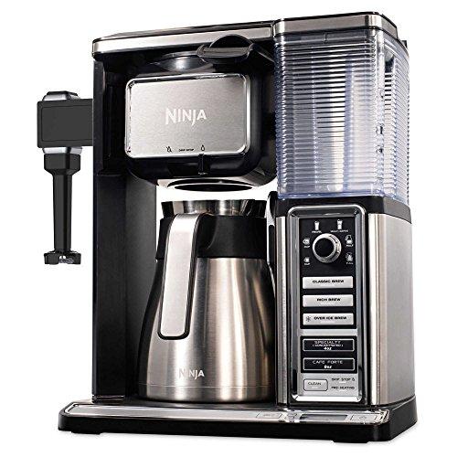 Ninja Coffee Bar 50 oz. Stainless Steel Brewer System in Black (Ninja Bunn compare prices)