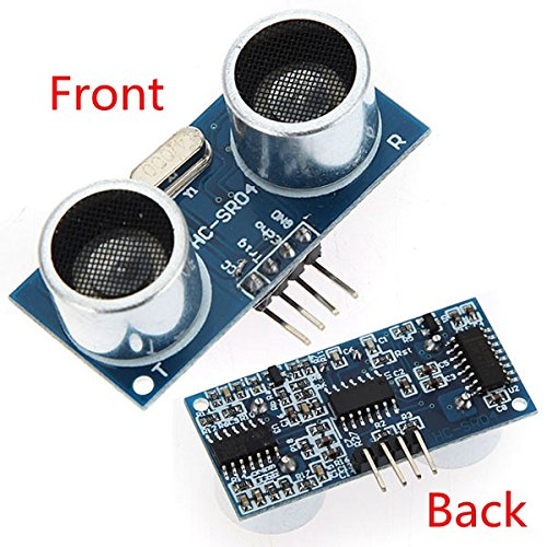 Mihappy 3pcs Ultrasonic Module Hc-sr04 Distance Measuring Transducer Sensor for Arduino