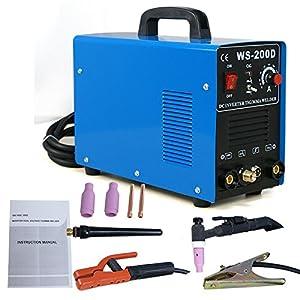Smartxchoices 2in1 DC Inverter Welder MMA ARC Welding Machine TIG Welder Dual Votage 110&220V ( 200 Amp,Blue) from Smartxchoices
