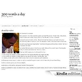 300 words a day
