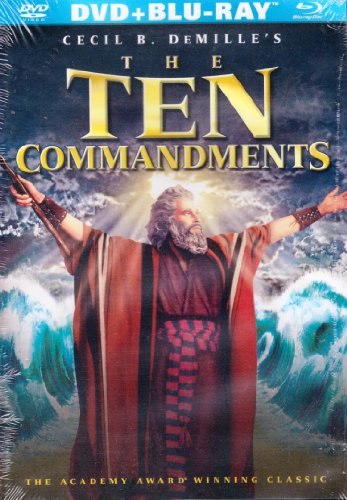 The Ten Commandments (Four-Disc Special Edition) [Blu-ray + Dvd] (1956)