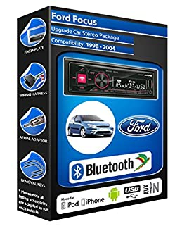 Ford Focus autoradio Alpine UTE 72BT-kit mains libres Bluetooth pour autoradio stéréo