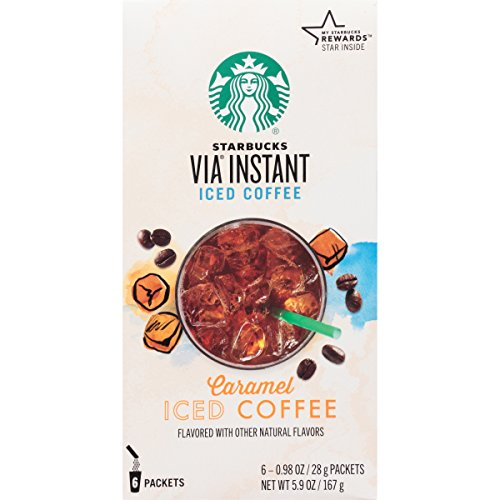 Starbucks VIA® Iced Caramel Coffee by Starbucks Coffee 6 pack (Starbucks Iced Caramel Coffee compare prices)