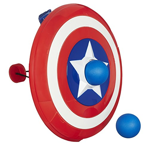 Playskool Heroes Marvel Super Hero Adventures Captain America Shield Launcher - 1