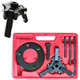 Neiko® 20720A Automotive Harmonic Balancer Puller Tool Set | Includes 3-Jaw Puller and Holding Tools