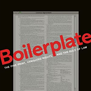 Boilerplate: The Fine Print, Vanishing Rights, and the Rule of Law | [Margaret Jane Radin]