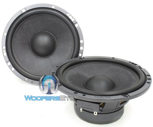 "Hp-165A3 - Focal 6.5"" 80W Rms Mid-Range Speaker Pairs"