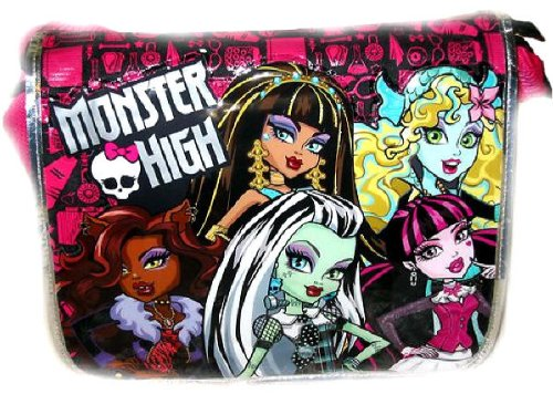 Monster High Messenger Bag 16in Large School Bag
