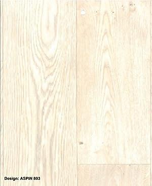 1209 silver black anti slip vinyl flooring home office for Black wood effect lino