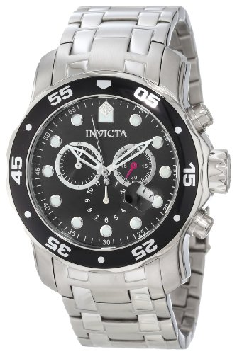 invicta watch shops online invicta men s 0069 pro diver collection chronograph stainless steel watch