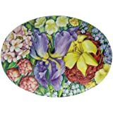 Churchill's Flowers Tin with Crystal Fruit Drops 300 g (Pack of 2)