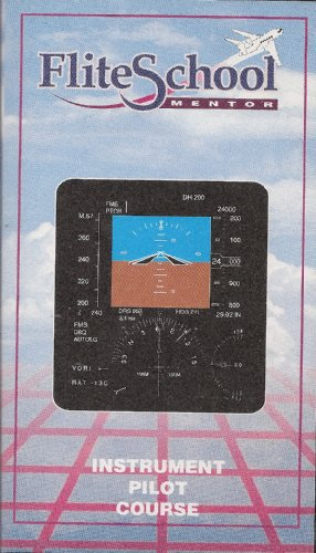 Flite School Mentor Instrument Pilot Video Home Study Course (4 Tape Set)